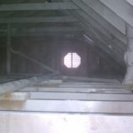 Attic Painted White