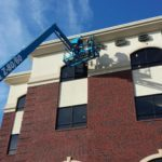 Aerial Lift For Bird Control